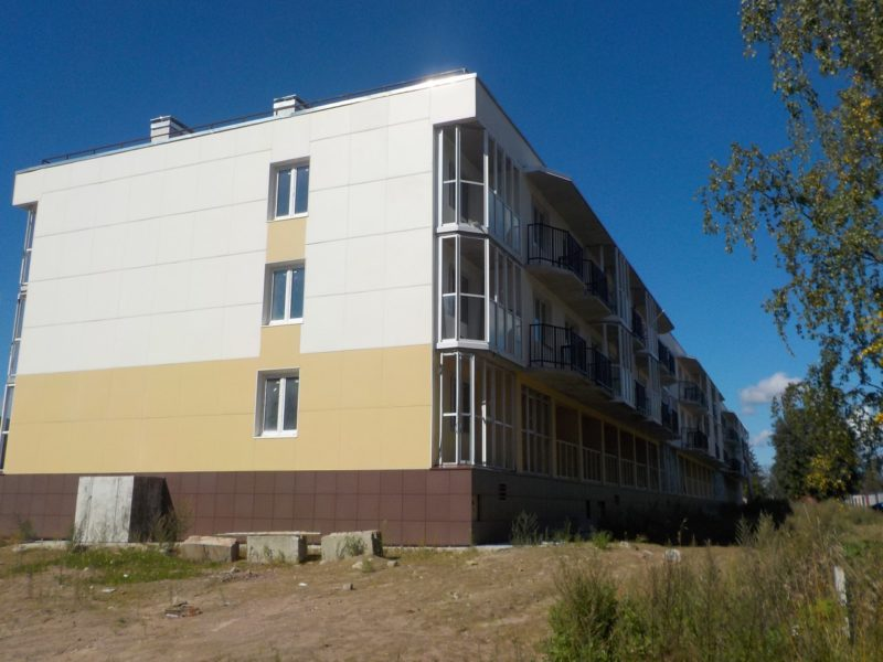 Проблемный дом в Полянах ждет строителей